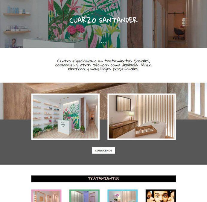 Captura nueva web Cuarzo Santander